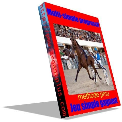 pmu, jeu simple gagnant, ebook,turf, trot,plat,obstacle